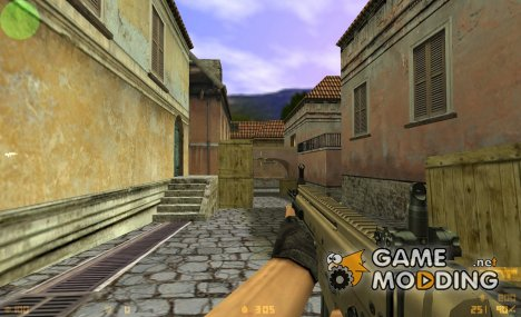 FN SCAR-L on DMG's animation для Counter-Strike 1.6