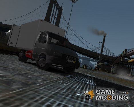 ГАЗель 3302 бизнес для GTA 4