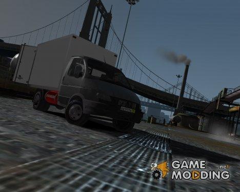 ГАЗель 3302 бизнес for GTA 4