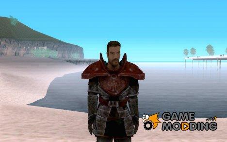 ГГ в церимониальном доспехе из Gothic 3 for GTA San Andreas