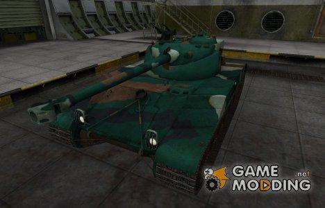 Французкий синеватый скин для Bat Chatillon 25 t for World of Tanks