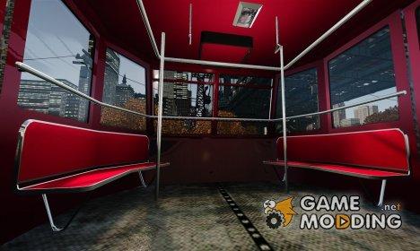 Улучшенные сидения в фуникулёре для GTA 4