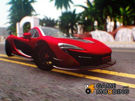McLaren P1 GSC for GTA San Andreas