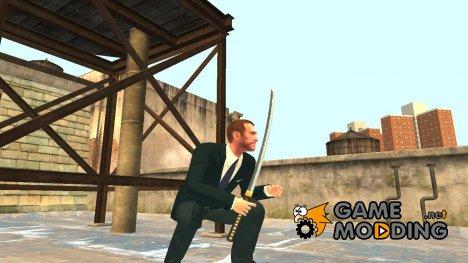 Katana для GTA 4