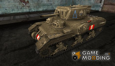 Шкурка для Ram-II for World of Tanks