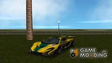 McLaren P1 GTR 2015 for GTA Vice City