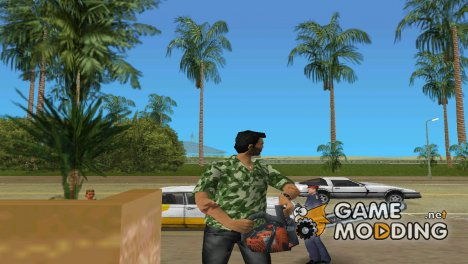 Бензопила для GTA Vice City
