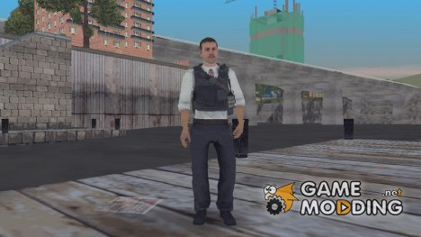Call Of Duty MW2 ФБРовец for GTA 3