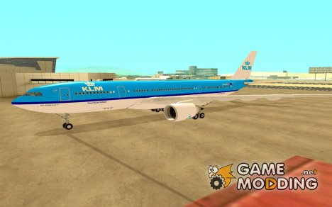 Airbus A330-200 KLM Royal Dutch Airlines для GTA San Andreas
