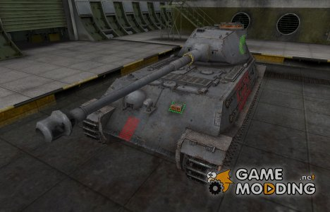 Зона пробития VK 45.02 (P) Ausf. B for World of Tanks