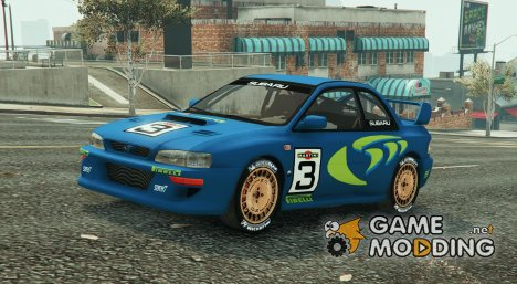 Subaru Impreza WRC 1998 World Rally for GTA 5