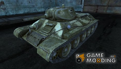 Шкурка для Т-34 для World of Tanks