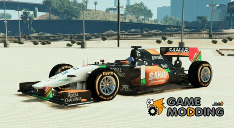 Force india2 F1 for GTA 5