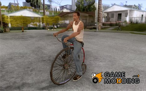 Penny-Farthing Ordinary Bicycle for GTA San Andreas