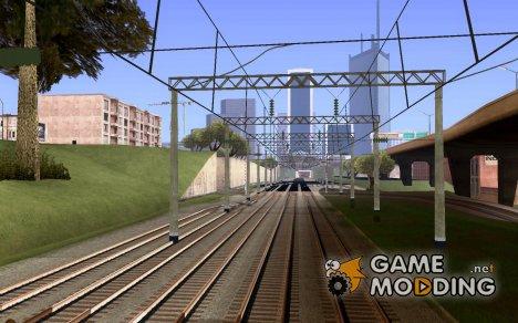 Контактная сеть for GTA San Andreas