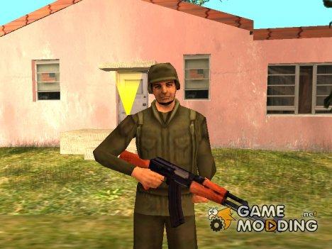 Скин армии из Vice city stories для GTA San Andreas