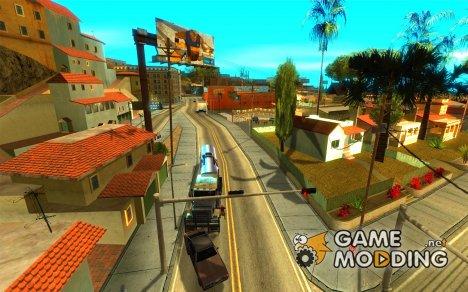 Грузоперевозки v2.0 для GTA San Andreas