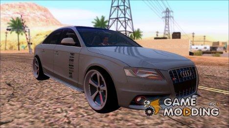 """Audi S4 """"Blacktop""""2010 для GTA San Andreas"""