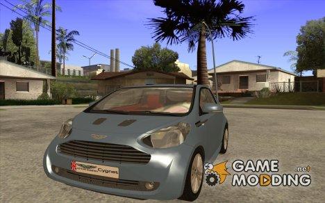 Aston Martin Cygnet Concept 2009 V1.0 для GTA San Andreas