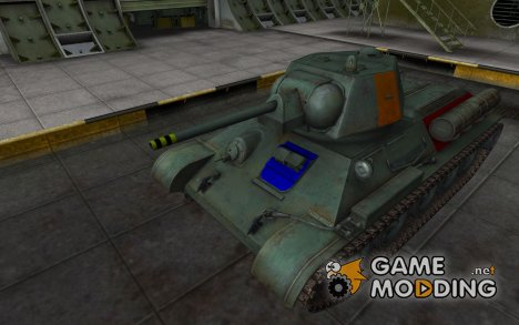Зоны пробития Type T-34 for World of Tanks