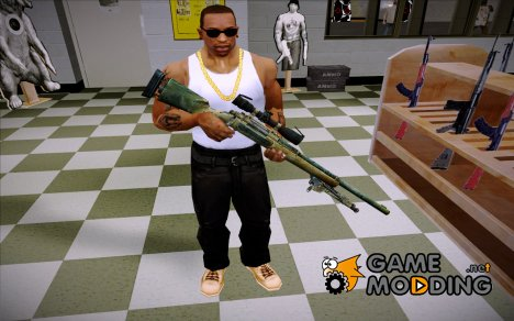 M24 (Sniper Ghost Warior 2) for GTA San Andreas