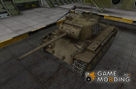 Ремоделинг для M26 Pershing для World of Tanks