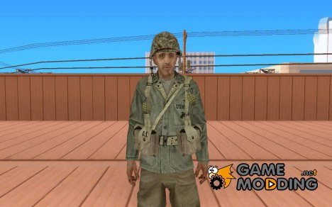 Содат из Call of Duty 5 for GTA San Andreas