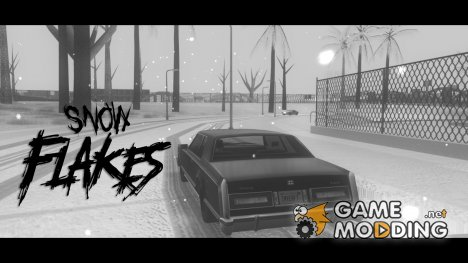 Snow Flakes for GTA San Andreas