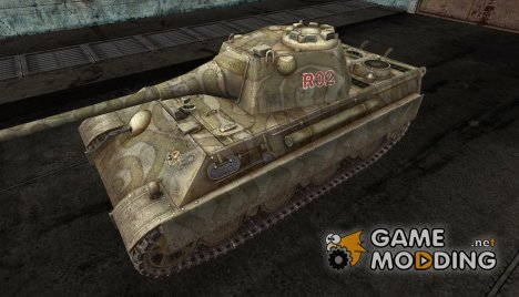 Шкурка для Panther II for World of Tanks