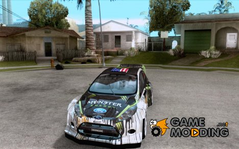 Ford Fiesta Gymkhana Four for GTA San Andreas