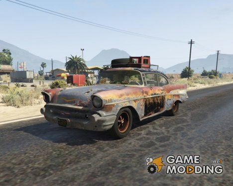 1957 Chevrolet Bel Air Rusty 1.2 for GTA 5