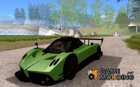 Pagani Zonda R for GTA San Andreas