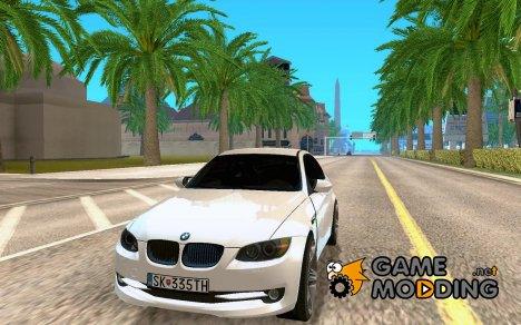 BMW 335i Coupe 2011 for GTA San Andreas