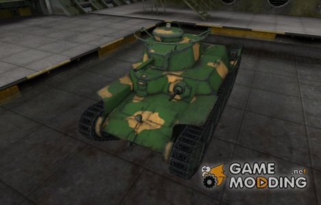 Китайский танк Type 2597 Chi-Ha для World of Tanks