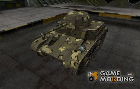 Простой скин T2 Light Tank for World of Tanks