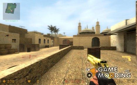GoldenRod Deagle для Counter-Strike Source