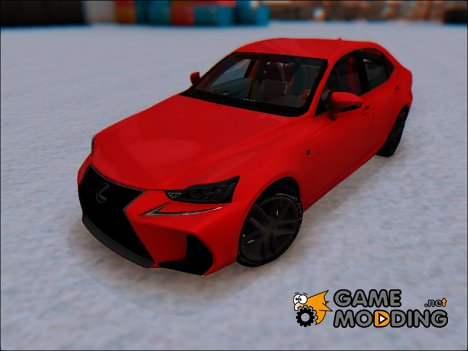 Lexus IS (XE30) 200T F Sport 2017 для GTA San Andreas