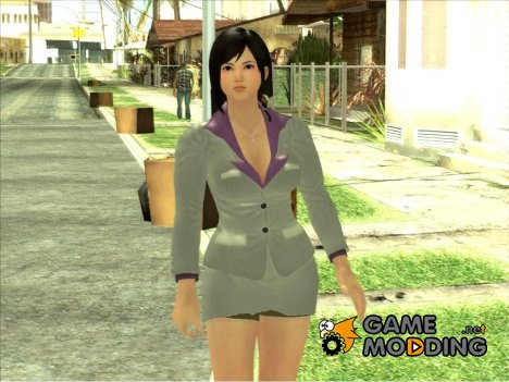Kokoro Business Suit для GTA San Andreas