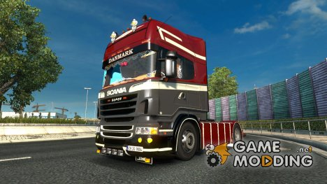 Scania R580 for Euro Truck Simulator 2