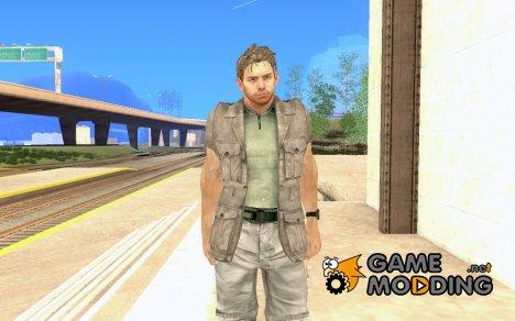 Крис первый костюм for GTA San Andreas