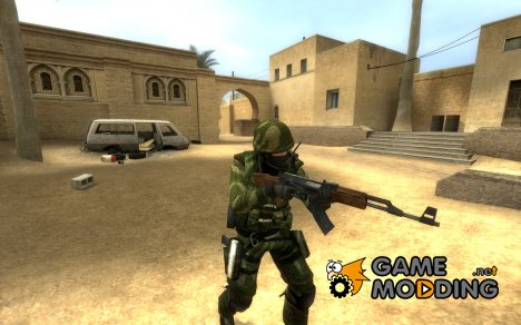 Green Tiger Stripe для Counter-Strike Source