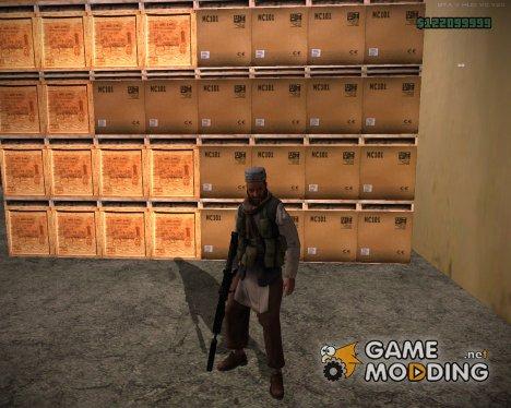 Талибский армеец v5 для GTA San Andreas