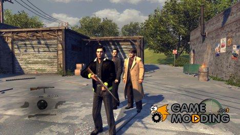 Бесконечные патроны и мод пассажира for Mafia II