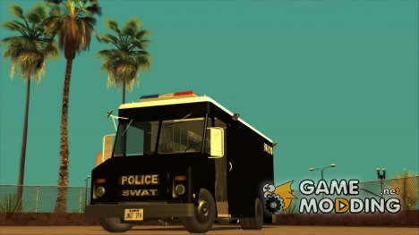 Chevrolet Step Van S.W.A.T. for GTA San Andreas