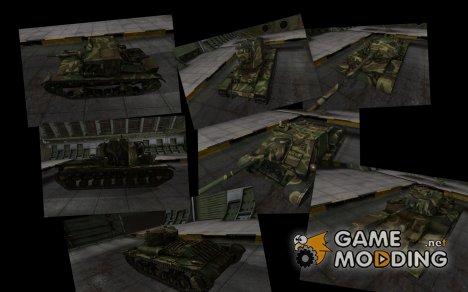 Скин с камуфляжем для советских танков v2 for World of Tanks
