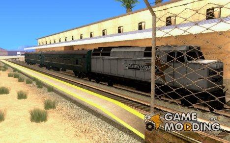 Вагон Российских железных дорог 2 for GTA San Andreas