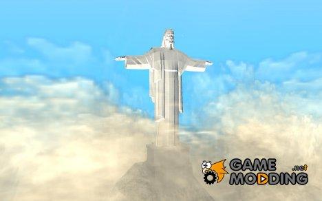 Статуя Христа Искупителя на горе Чиллиад for GTA San Andreas