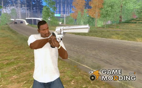 Chrome Deagle Weapon Mod for GTA San Andreas