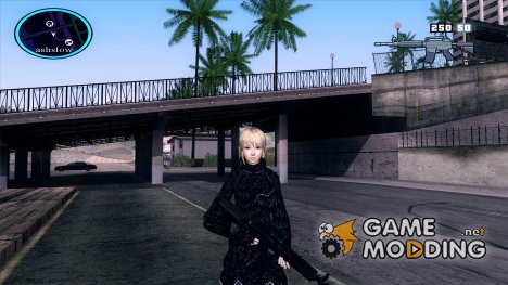 wang yuanji for black clothes for GTA San Andreas