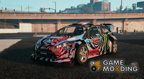 Ford Fiesta Ken Block для GTA 5